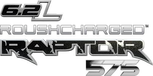 6.2L ROUSHCHARGED Raptor 575 Logo