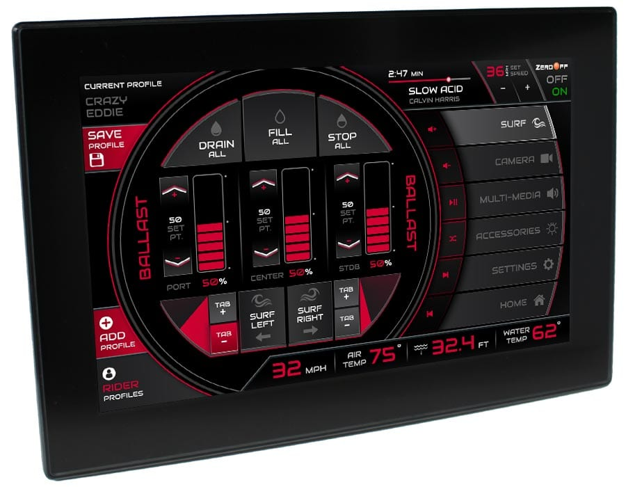 Instrumentation Dash - Surf Screen